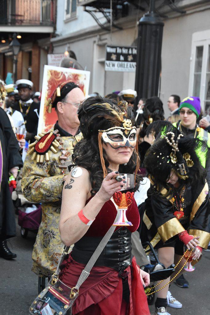 Parada w Nowym orleanie podczas Mardi Gras